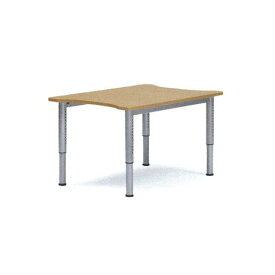 ダイニングテーブル 天板昇降タイプ 車いす用テーブル 車椅子 車イス 机 高さ調節 施設用テーブル 介護用テーブル 昇降テーブル 教育施設用 デスク NJT-8012