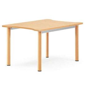 ★送料無料★ダイニングテーブル 小型 店舗用 介護施設用 NST-8012