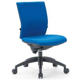 チェア ローバック キャスター付 布張り ビニールレザー張り 10色展開 ランバーサポート 回転イス オフィスチェア 事務用椅子 OS-2205 送料無料