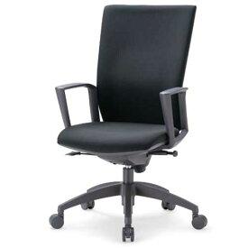 チェア ハイバック 肘付 キャスター付 布張り ビニールレザー張り 10色展開 ランバーサポート 回転イス オフィスチェア 事務用椅子 OS-2255SJ 送料無料