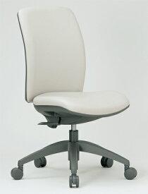 チェア ミドルバック キャスター付 布張り ビニールレザー張り 11色展開 回転イス オフィスチェア 事務用椅子 OA-2125 送料無料