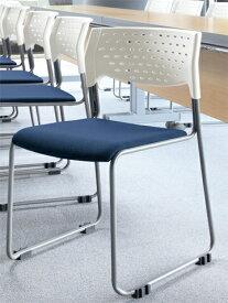【法人限定】ミーティングチェア 会議椅子 スタッキングチェア 椅子 オフィス 会社 MC-101WG LOOKIT オフィス家具 インテリア