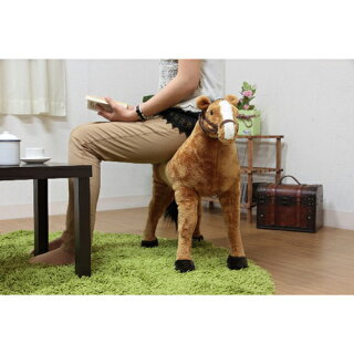 アニマルスツールウマ馬スツール椅子B8202-28