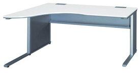 左ラウンドデスク L型デスク 平机 W1800mm ベルフィーノ Belfino ワークデスク デスクシステム オフィス 事務用 学習机 書斎机 FN-1812RL LOOKIT オフィス家具 インテリア