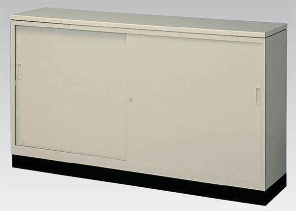 ★新品★簡易型カウンター スチール引戸書庫 激安 G-63SSCT ロッカー キャビネット 収納 備品庫 書棚 本棚