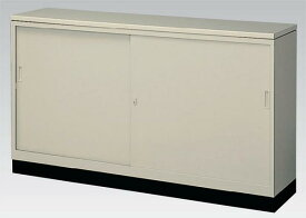 簡易型カウンター スチール引戸書庫 激安 G-63SSCT ロッカー キャビネット 収納 備品庫 書棚 本棚