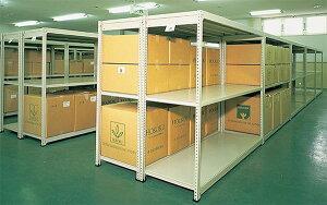 スチールラック 幅176×奥行59.5×高さ180cm 3段 150kg/段 軽量ラック イチゴラック 業務用 収納棚 オープンラック スチール棚 スチールシェルフ IM-6660-3