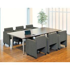 応接セット テーブル チェア 椅子 接客用 ラウンジ 打ち合せ 会議室 待合室 日本製 ZC-590S LOOKIT オフィス家具 インテリア