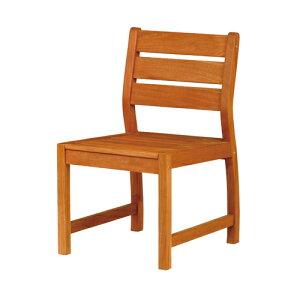 【法人限定】 ガーデンチェア ガーデン 庭 椅子 イス ガーデニング 屋外用 エントランス 木製 ナチュラル 天然木 公園 施設 ウッドチェア シンプル MBA-50C