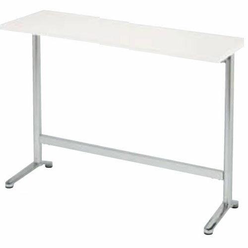 ラウンジテーブル角型幅1800mm×奥行450mmオフィス国産スリムカウンター会議室待合室喫煙室HD-1845K