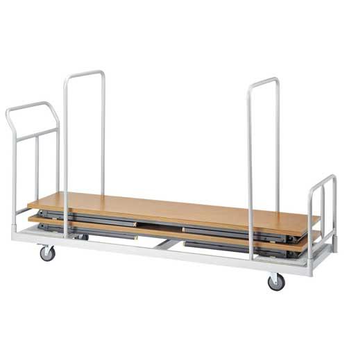 台車 折り畳み会議用テーブル用 手押し車 DS-450 ルキット オフィス家具 インテリア