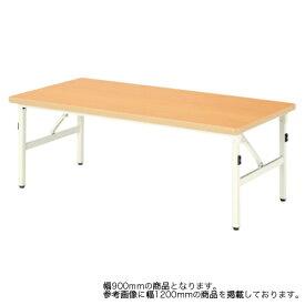 折り畳みテーブル 幅900mm 奥行600mm 高さ510mm キッズテーブル パーティ 集会 折りたたみ ローテーブル センターテーブル 長机 作業台 長テーブル ESB-0960M