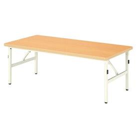 折り畳みテーブル 幅1200mm 奥行600mm 高さ510mm キッズテーブル パーティ 集会 折りたたみ 作業台 長机 ローテーブル センターテーブル 和室 ESB-1260M