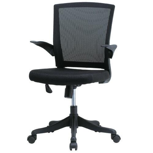 【最大10,000OFFクーポン配布中 6/21 1:59まで】 オフィスチェア メッシュチェア パソコンチェア 椅子 メッシュチェアー おしゃれ ブラック 肘付き デスクチェア メッシュ チェア 事務椅子 オフィス家具 FEM-14A