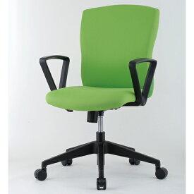 【法人限定】 デスクチェア 肘付き お洒落 カラフル 椅子 JUC-06AT ルキット オフィス家具 インテリア