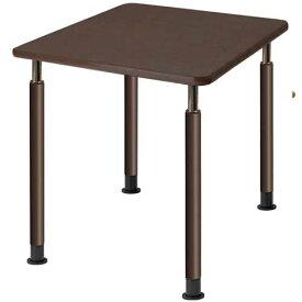 【法人限定】 昇降式テーブル 幅900×奥行900mm 正方形 キャスター付き ダイニングテーブル 昇降テーブル 角型 昇降式 食堂 木製 介護施設 老人ホーム UFT-0909
