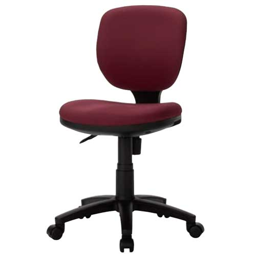 オフィスチェア肘なし布張りレザー張りデスクチェアミーティングチェアデスク用イスパソコンチェアチェアイスオフィス家具オフィス事務所BRU-13