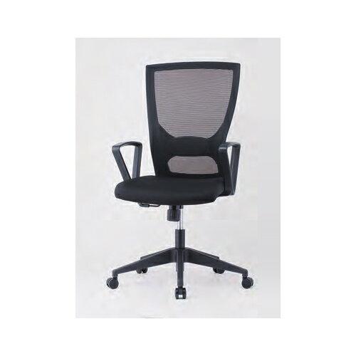 オフィスチェア 肘付き 固定肘付き メッシュチェア ミーティングチェア デスクチェア PCチェア オフィス家具 オフィス用品 会議室 事務所 GINK-110A