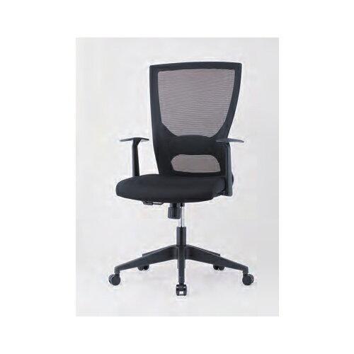 オフィスチェア 肘付き T型固定肘付 デスクチェア メッシュチェア 事務チェア PCチェア 椅子 ミーティングチェア オフィス家具 会議室 打ち合わせ GINK-110T