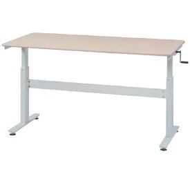 【法人限定】 昇降式テーブル ミーティングテーブル スタンディングテーブル オフィスデスク レバー式 介護テーブル レバー式 スタンディングデスク HUD-1680