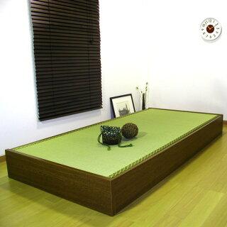 畳ベッドセミシングル収納付き防湿防虫加工日本製収納ベッド収納付きベッドフロアベッド低床ベッド畳収納人気ローベッドD-62