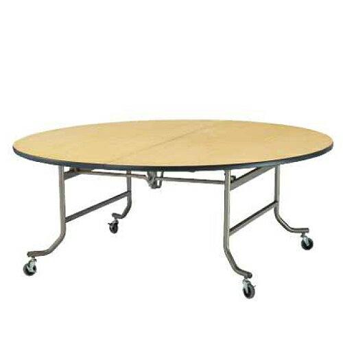 レセプションテーブル サークル テーブル 円型 丸型 食堂 宴会 ホテル 机 作業台 大型テーブル ダイニングテーブル 会議テーブル リビングテーブル FRN-180R