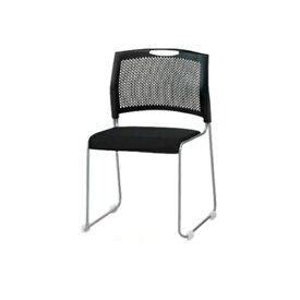 【法人限定】 スタッキングチェア 布張りチェア ミーティングチェア オフィスチェア セミナー 会議室 椅子 チェア 講演会 研修所 学校 教育施設 NS-T10