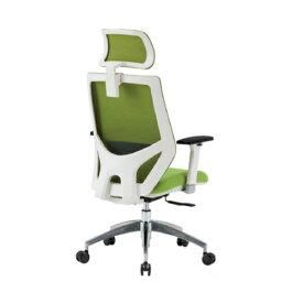 オフィスチェア 肘付き ヘッドレスト付き キャスター付きチェア デスクチェア メッシュチェア 布張りチェア オフィス家具 FCM-11-AH