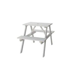 ガーデンテーブル ベンチ付き 幅75cm ガーデン家具 屋外用テーブル 庭 テラス 木製 天然木 シンプル おしゃれ テーブル&ベンチ W75 ODS-91