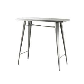 【最大1万円クーポン9月24日2時まで】カウンターテーブル ハイテーブル ハイタイプテーブル 長方形 角型天板 ステンレス製 シンプル テーブル おしゃれ ステンレス STN-336