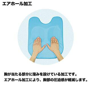病院が使っている胸当て枕フェイスマット付きうつ伏せ枕日本製マッサージクッションバストピローうつ伏せ胸当て整体院胸枕腰枕耐薬品TB-77C-60
