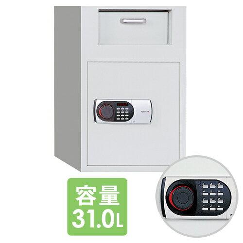 投入式保管庫 31L デジタルテンキー式 DS25 ルキット オフィス家具 インテリア