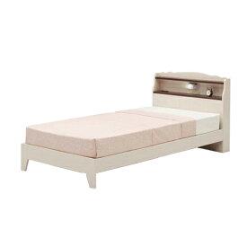 ベッド シングル 寝具 木製ベッド 人気 ベッドフレーム北欧 ライト コンセント 通気性 すのこ インテリア リビング 快眠 ホワイト 棚付き HALONG