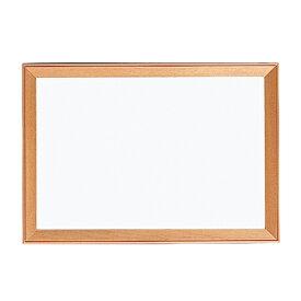 ホワイトボード 幅494×高さ346mm 木枠付 掲示ボード 案内板 店舗用品 白板 マーカー対応 マグネット対応 業務用 ショップ 飲食店 800WM1