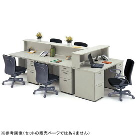 平机 W1800mm ナイキ NAIKI 事務用デスク NEDH186F ルキット オフィス家具 インテリア