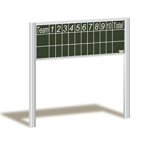 野球スコアボード 埋込式 得点板 埋込固定式 黒板 スコアボード 野球用 試合 野球場 設備 備品 学校 グラウンド 校庭 野球用品 S-0905