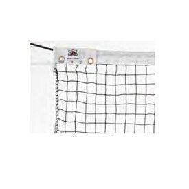 テニスネット 硬式用 黒 テニス用品 ネット コート整備用品 試合 練習 部活動 テニススクール テニスコート 教育施設 運動施設 S-2343