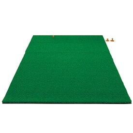 【法人限定】 ゴルフマット 100×160cm ゴルフ練習マット スイングマット ゴルフ用 人工芝 ショットマット スタンスマット ゴルフ練習場 練習用 業務用 S-7945