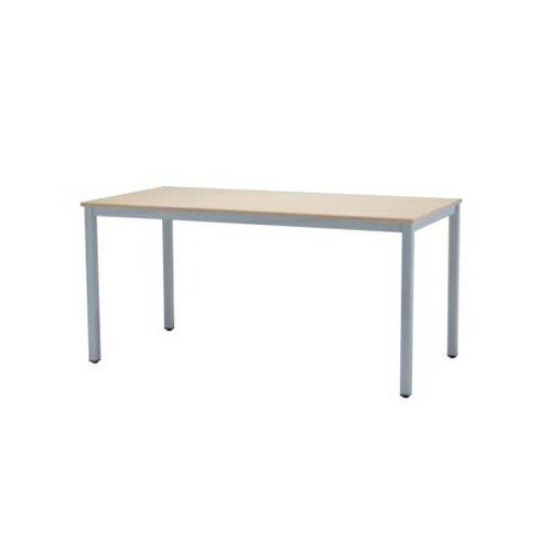 【5月25日00:00〜23:59まで最大1万円OFFクーポン配布】ミーティングテーブル 幅1500×奥行750mm オフィステーブル 会議テーブル 角型テーブル オフィス家具 平机 長方形 N4型 N4-1575