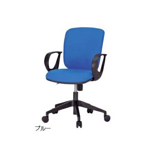オフィスチェア 肘つきチェア 布張りチェア キャスター付きチェア デスクチェア パソコンチェア ミーティングチェア チェア TW-800A
