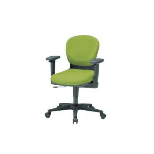 オフィスチェア 肘付チェア デスクチェア パソコンチェア ミーティングチェア オフィス家具 布張りチェア キャスター脚 WAチェア WA-1400