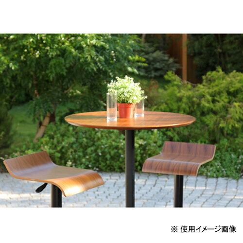 送料無料カウンターテーブル直径700mmハイテーブル木製テーブル円形机おしゃれダークブラウン北欧風円テーブルTCT-1230