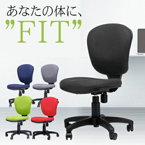 モールドウレタンスタンダードチェア 肘なし オフィスチェア 椅子 いす イス パソコンチェア デスクチェア シンプル 布張り 事務椅子 会社 書斎 学習椅子 M-501