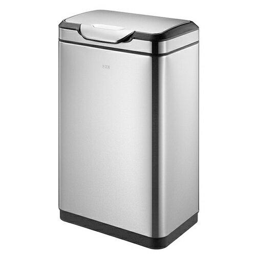 ゴミ箱 45L ふた付き 角型 ステンレス おしゃれ かっこいい スタイリッシュ ごみ箱 屑入れ ダストボックス キッチン カウンター 1年保証 送料無料 EK9178MT-45L