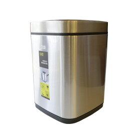 ゴミ箱 9L 自動センサー EKO 1年保証 ダストボックス ステンレス 自動開閉 ふた付き おしゃれ 屑入れ ウイルス予防 清潔 エコスマート センサービン EK9288MT-9L