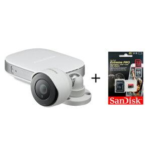 【最大1万円クーポン7/26 2時迄】防犯カメラ 屋外対応 1年保証 SDカード付き FULL HD 高画質 通話 監視カメラ 小型 暗視 見守りカメラ ベビーモニター 遠隔 IPネットワークカメラ SNH-E6440BN-SD