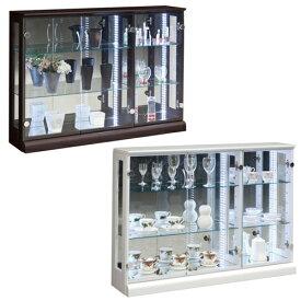 コレクションラック 送料無料 コレクションケース ガラス棚 食器棚 ガラスケース ショーケース 収納棚 ハスラー110コレクション HUSTLER-110CR 【着日指定不可】