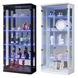 コレクションラック 送料無料 ガラスキャビネット 収納棚 ガラス棚 ショーケース 飾り棚 ジョイ70コレクションボード(H)ライト付 JOY-70CRH 【着日指定不可】