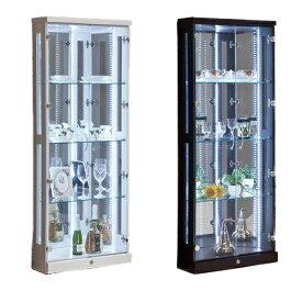 コレクションラック 送料無料 コーナー 食器棚 ガラスキャビネット ガラスケース ショーケース プレオ60コーナーコレクション PLEO-60CCR 【着日指定不可】