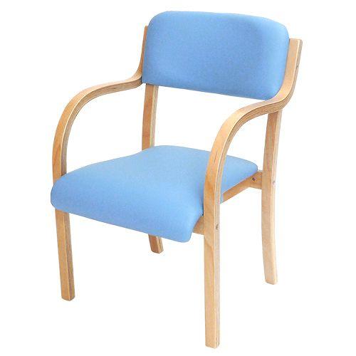 ダイニングチェア木製肘付き介護椅子肘掛イススタッキングチェアダイニングチェア介護椅子病院あす楽シエルETV-3LOOKITオフィス家具インテリア